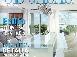 DKOR Interiors Takes Cover Page In South American Interior Design Magazine - Ocean Drive CASAS 1