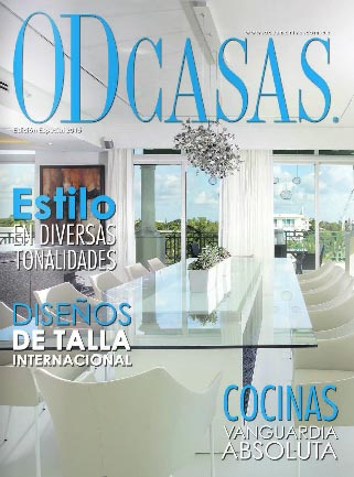 DKOR's interiors takes cover page in South American Interior Design Magazine - Ocean Drive CASAS