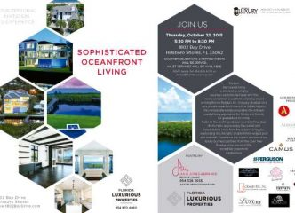 South Florida's Top Interior Design Firm And Florida Award Winning Builder Collaborate On A VIP Luxury Real Estate Event… And You're Invited. 2