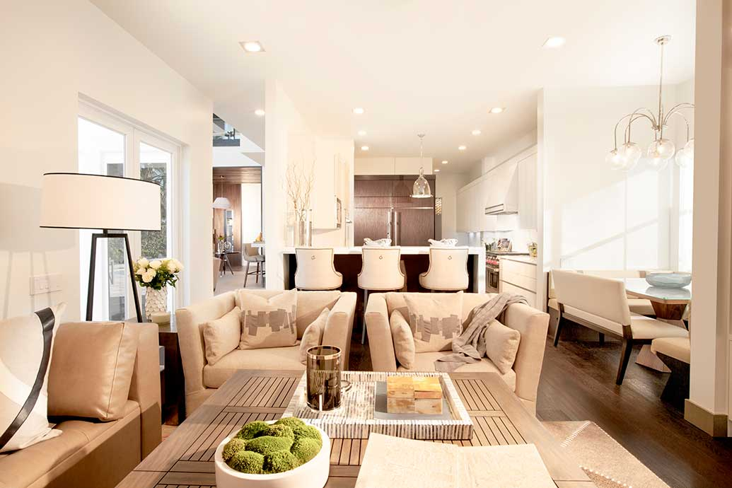 """""""Contemporary Comfort"""" Interior Design Project by DKOR Interiors"""