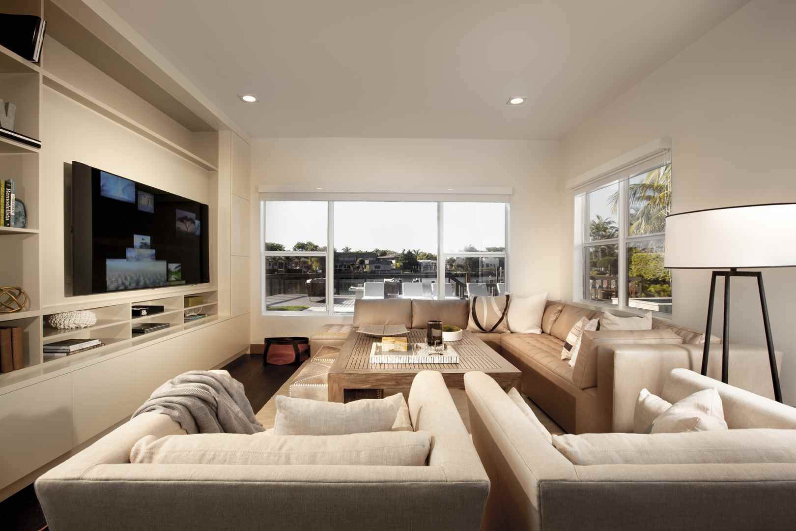 Home renovation contemporary comfort by dkor interiors - What is contemporary design ...