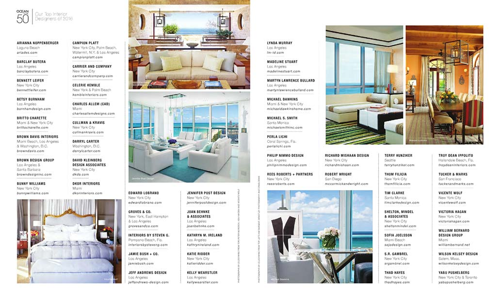 DKOR Interiors is one of the Top 50 Interior Designers by Ocean ...