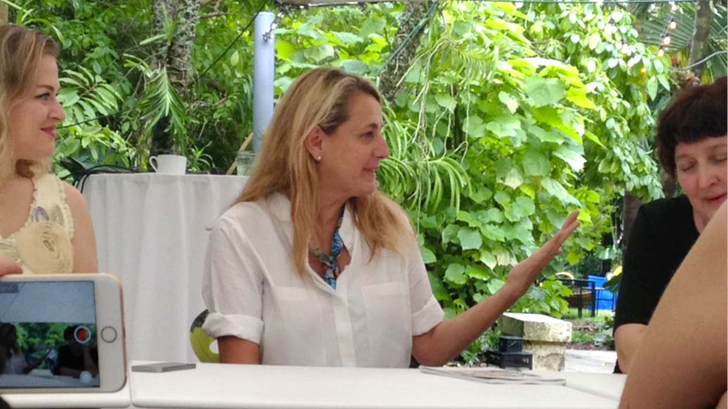 Interior Designers attending Whitewall & Moroso Breakfast talk