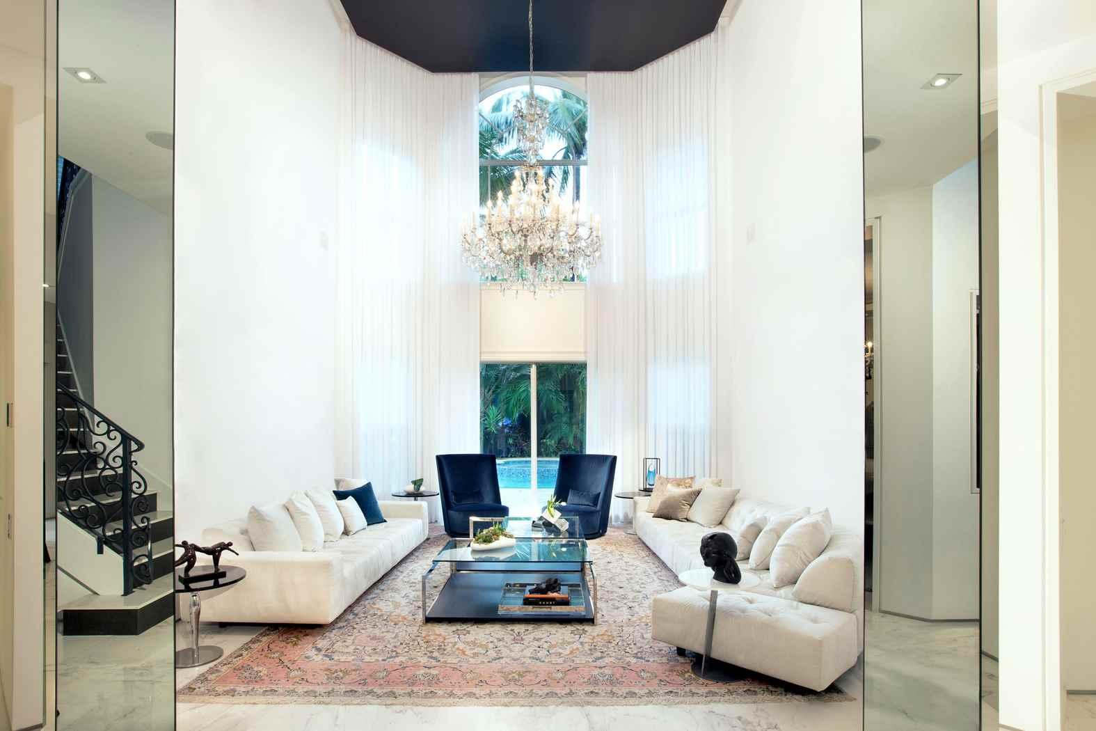 Miami Transitional Gem - Residential Interior Design From DKOR Interiors