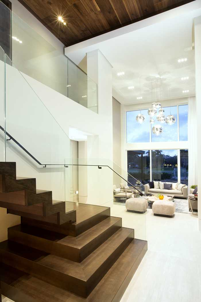 Contemporary Twilight Residential Interior Design From