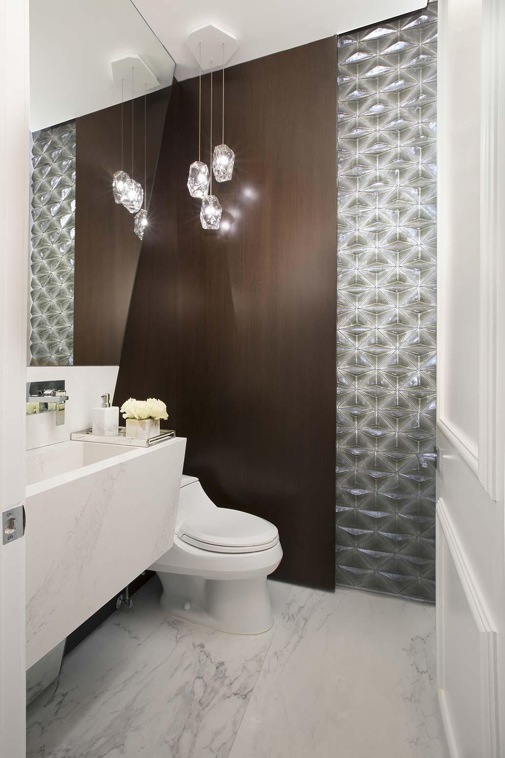 Miami Interior Design Firm - Powder Room Designs