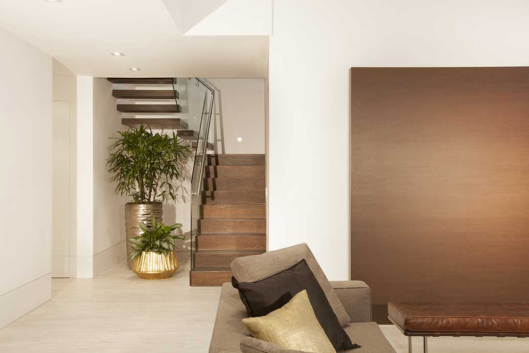 Best staircase design ideas featured on for Residential interior design ideas