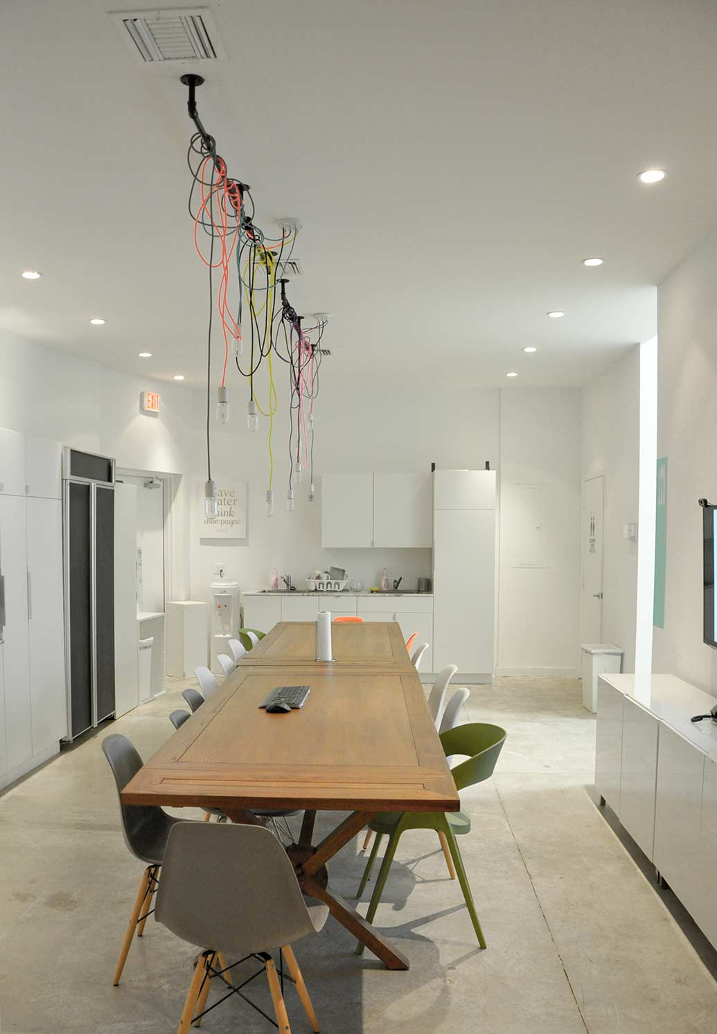 Florida interior design studio rightly illuminated with CASA LIGHTING AND BULBS essentials