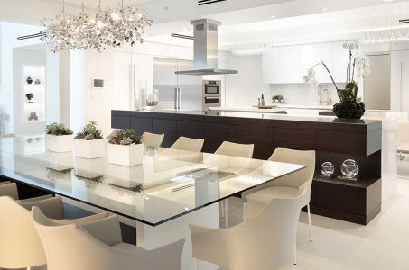 Styling A Fort Lauderdale Penthouse With A Stand-out Custom Dining Table 5