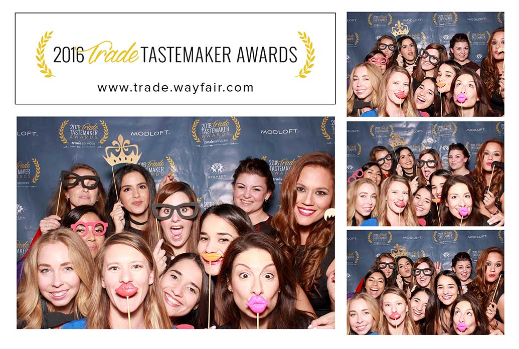 Florida interior design team attended Wayfair's 2016 Trade Tastemaker Awards