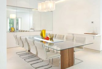 Minimalist Furniture Design For A Modern Dining Room 1
