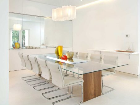 Minimalist Furniture Design For A Modern Dining Room 1