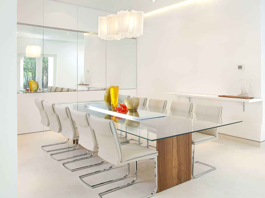 Minimalist furniture design for a modern dining room - Modern contemporary interior design ...