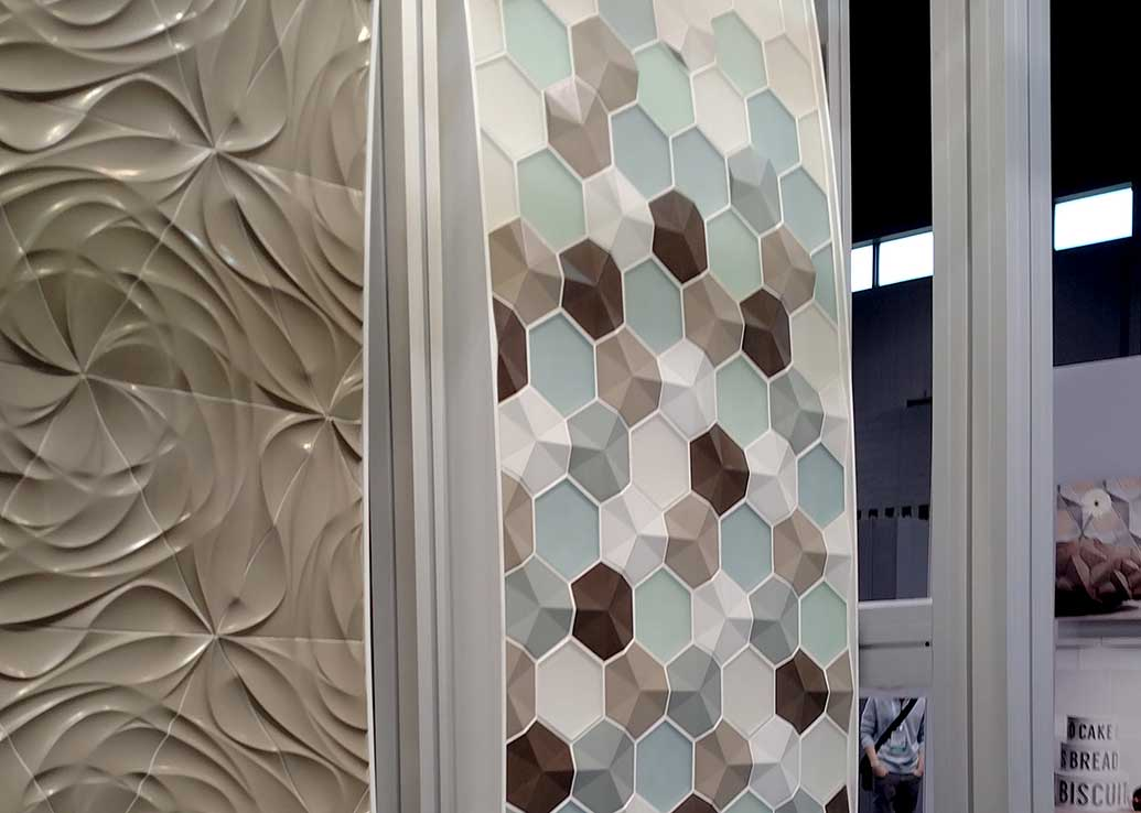 interior design trends at Coverings 2016