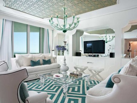 The Glamour Of DKOR's Hollywood Regency Project On Marie Claire México 1