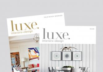 Luxe Magazine Features DKOR's Sophisticated Beach Vacation Home