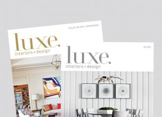 Luxe Magazine Features DKOR's Sophisticated Beach Vacation Home 6