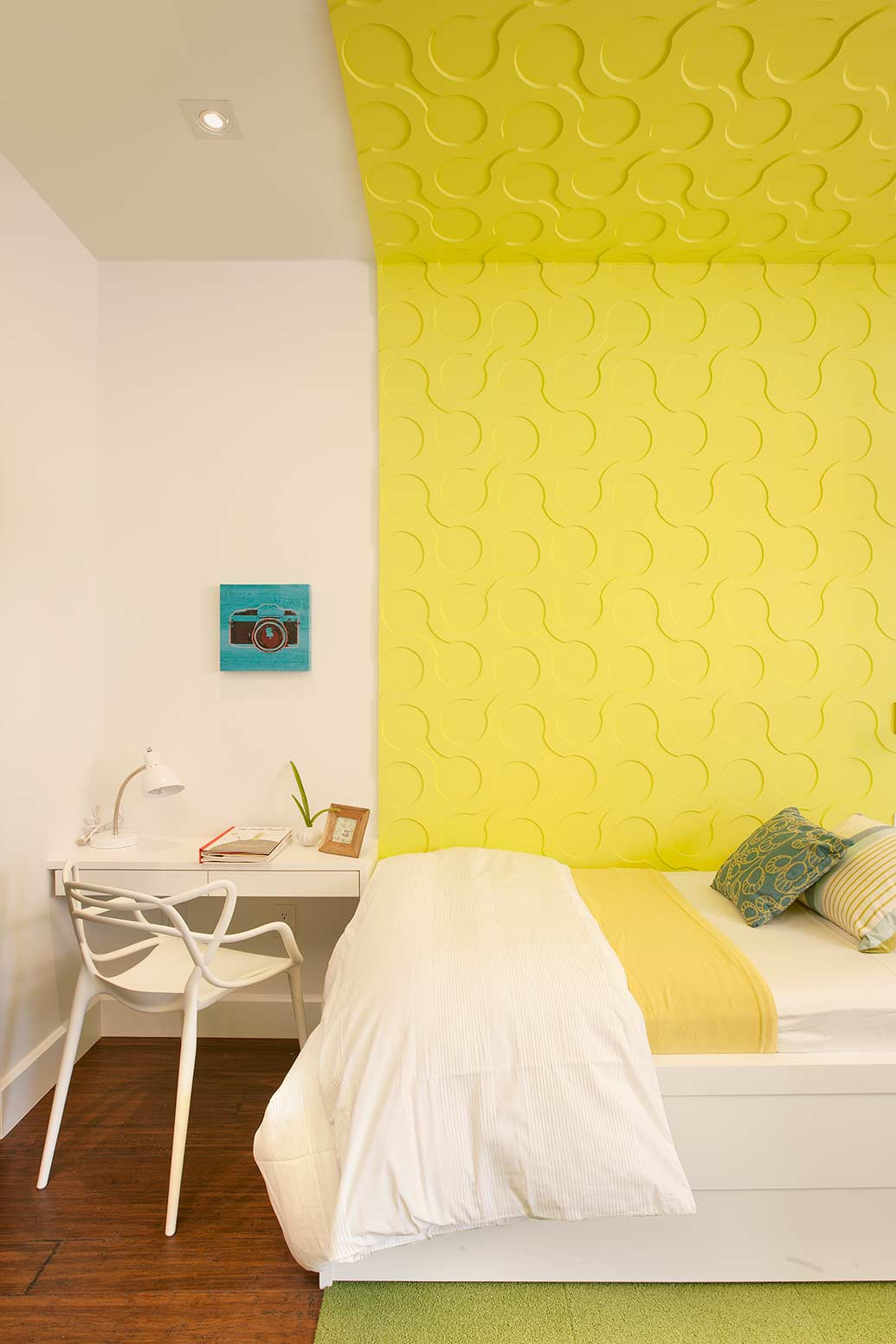 Inspiring Color Blocked Interiors by DKOR Interiors