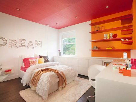 Inspiring Color Blocked Interiors By DKOR 1