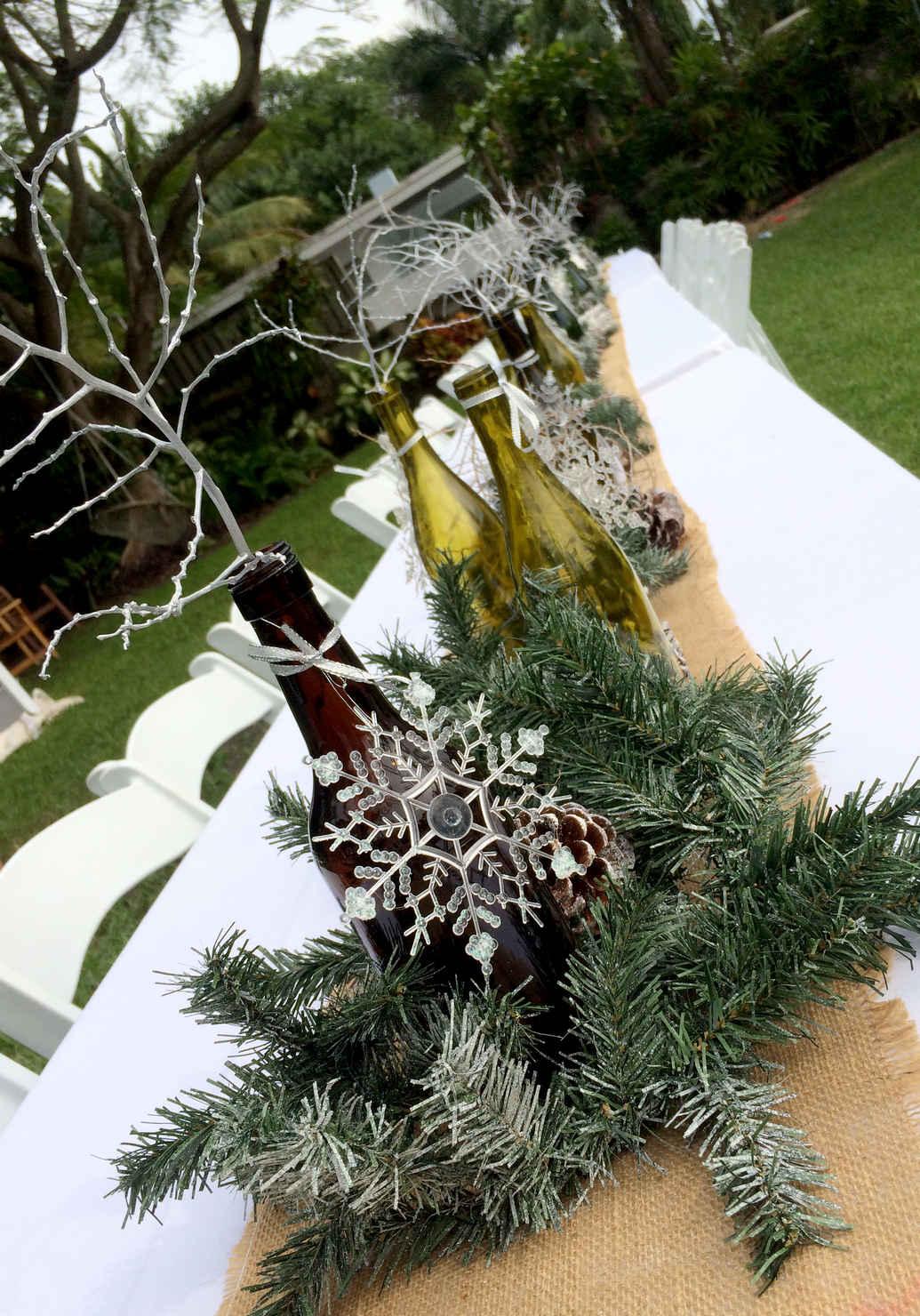 White Christmas Party Theme Ideas