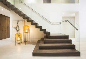 1 ContemporaryTwilight Staircase 2