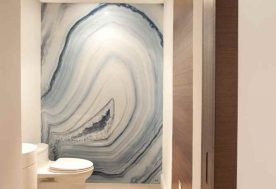 Miami Modern Home - Powder Room