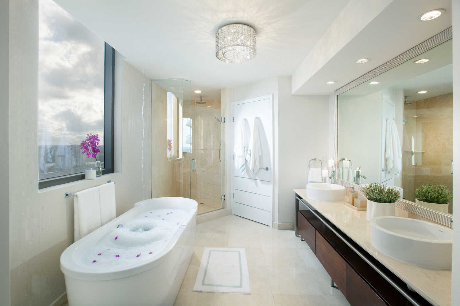 Master Bathrooms - Residential Interior Design From DKOR Interiors