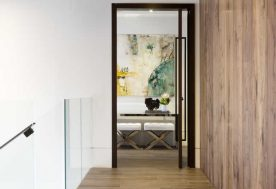 2 ContemporaryTwilight Hallway 1