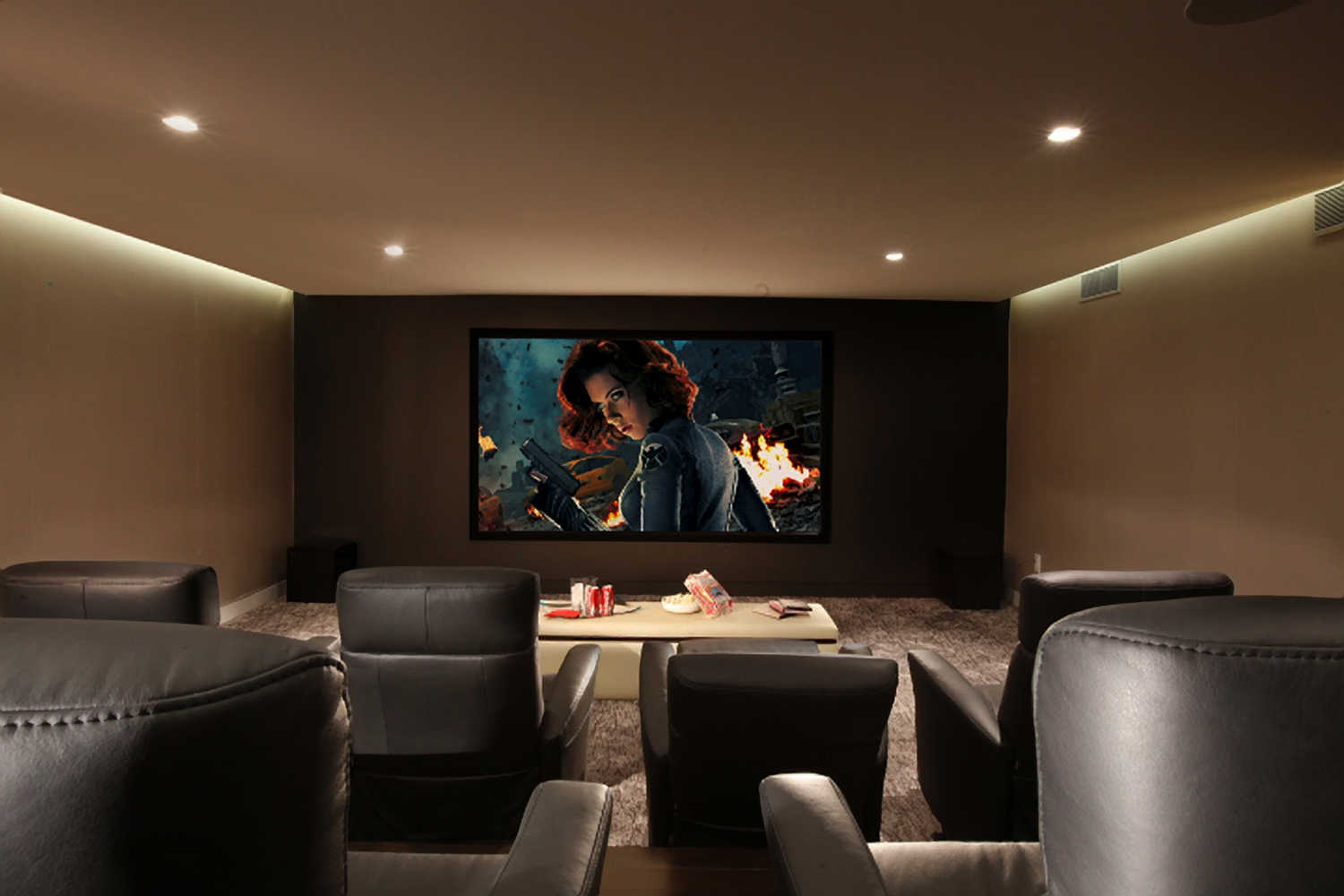 Home Theater And Media Rooms Residential Interior Design