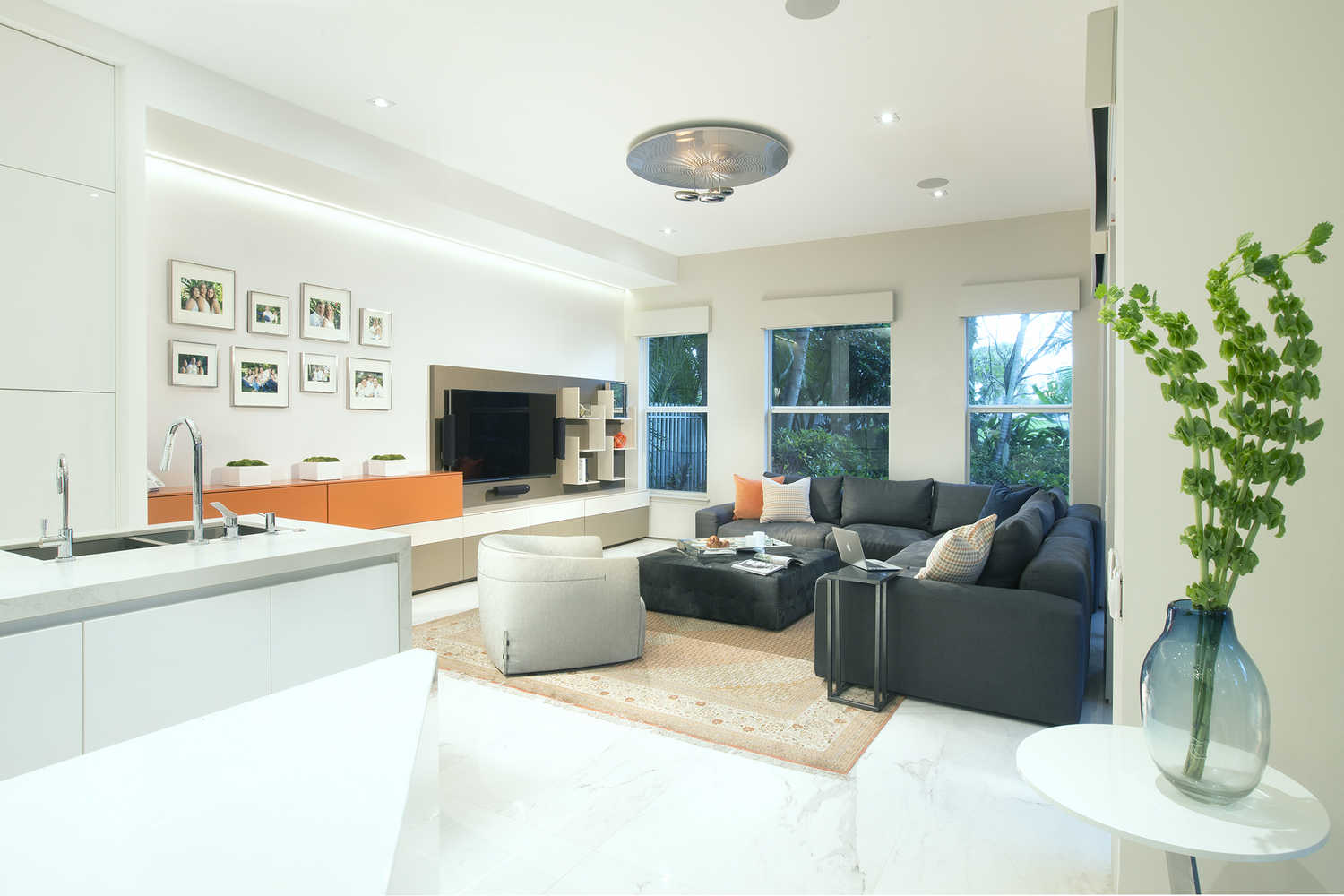 Family Rooms - Residential Interior Design From DKOR Interiors