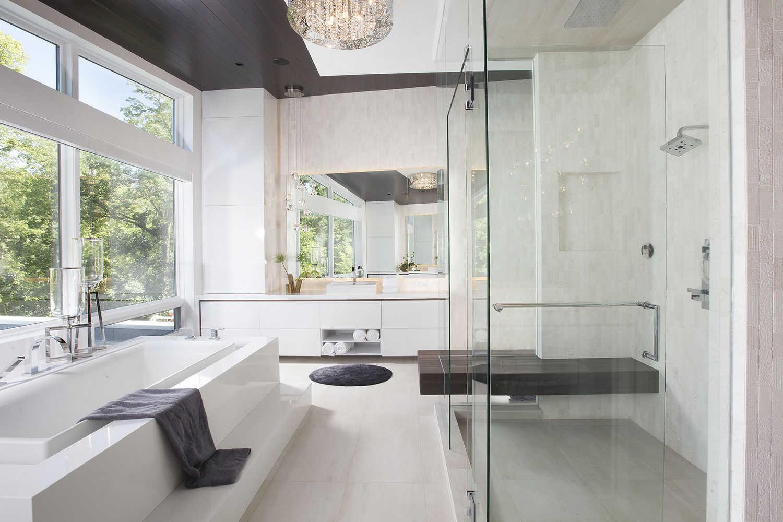 Master Bathroom Ideas - Residential Interior Design From DKOR Interiors