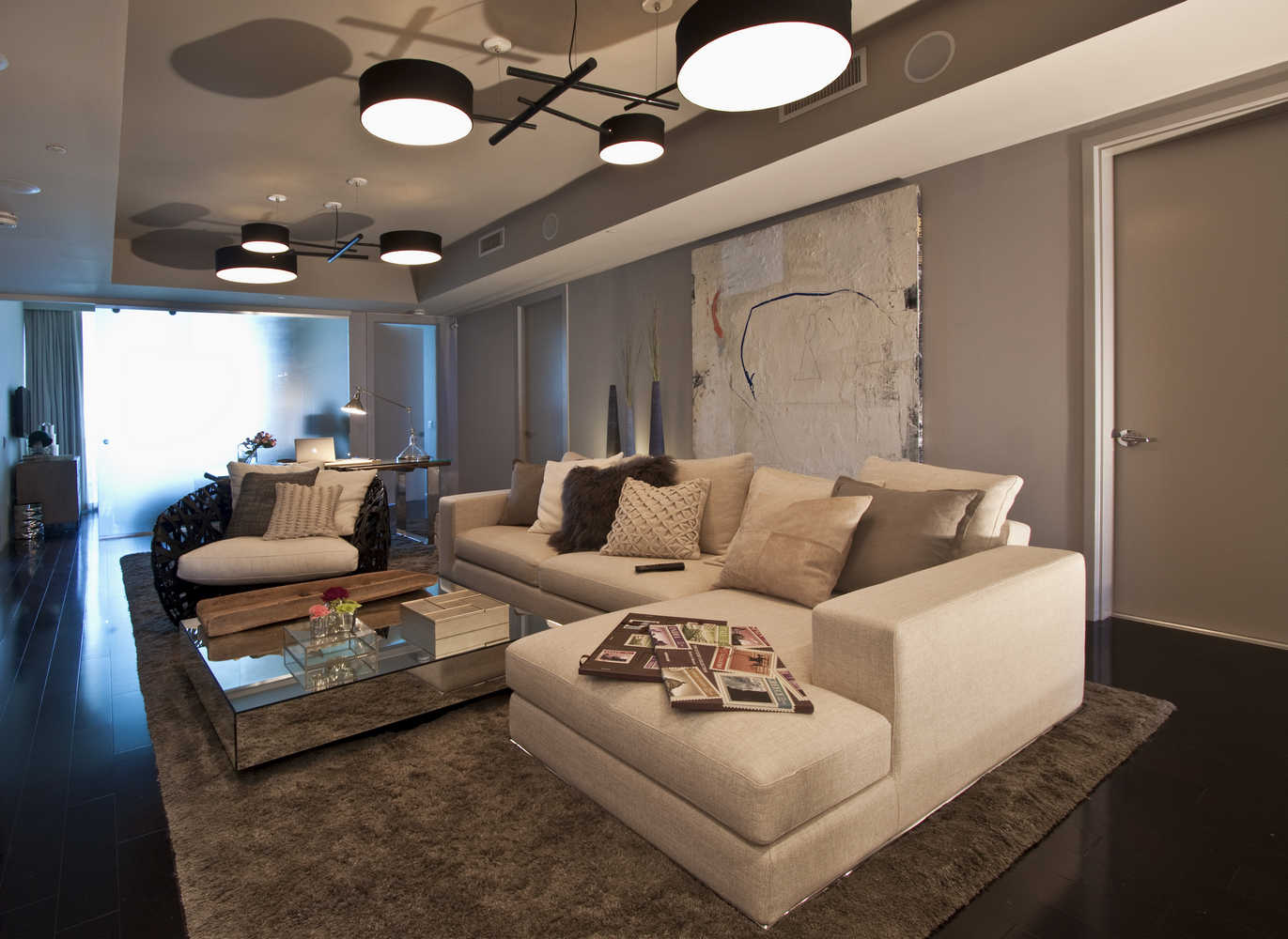 Family rooms residential interior design from dkor interiors - Family room interior design ...