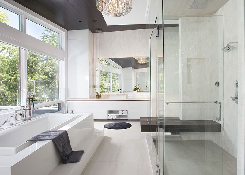 Master Bathroom Ideas Residential Interior Design From Dkor Interiors - Master-bathrooms