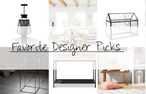Top Ten Designer Picks – Spring 2017