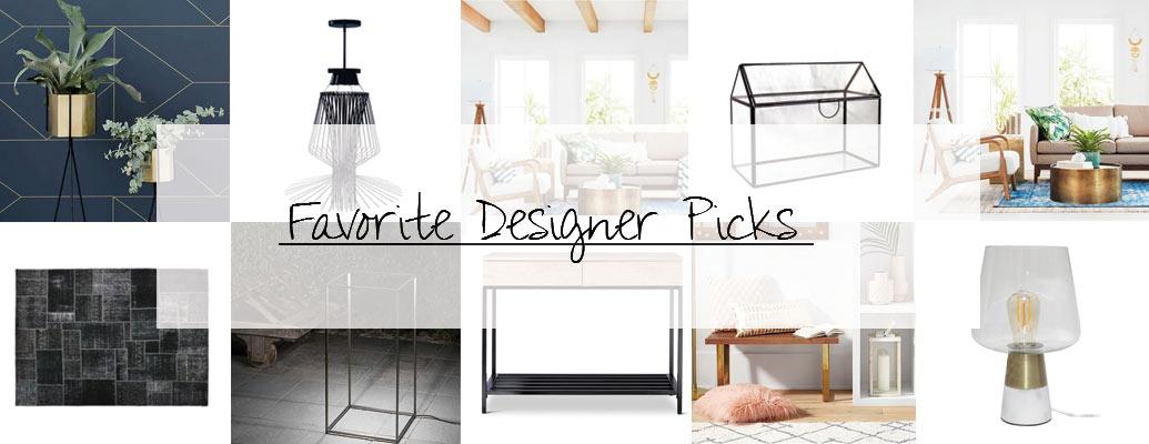 Top Ten Designer Picks