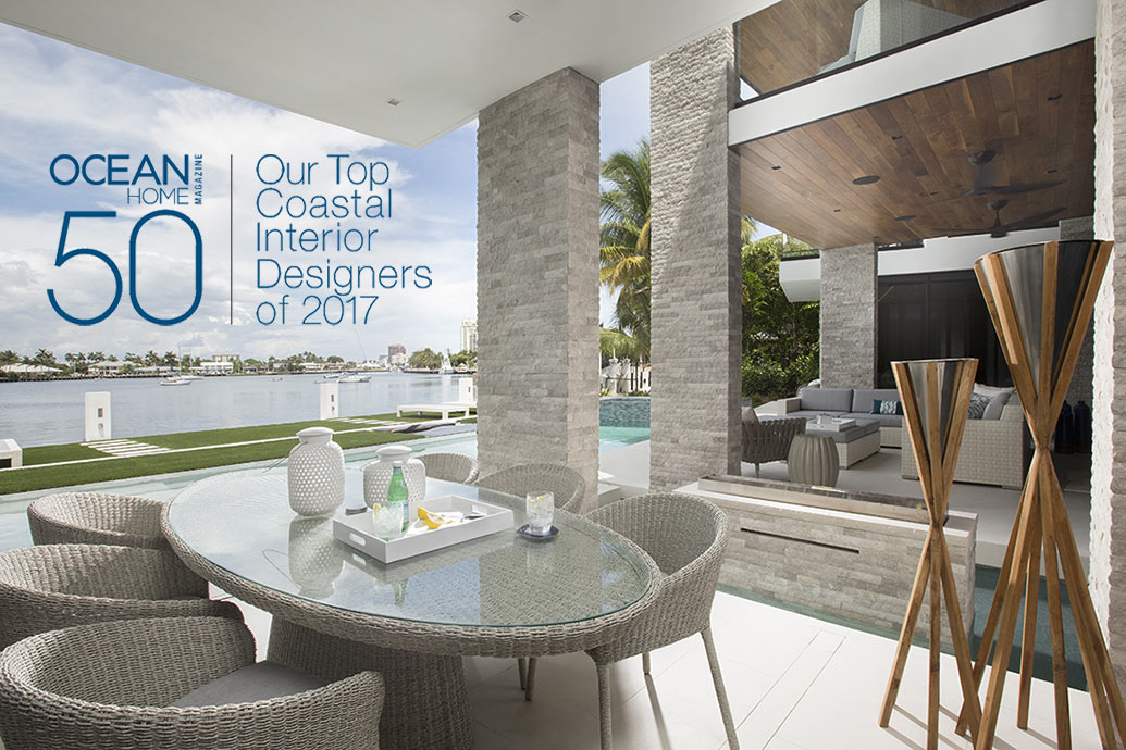 Top coastal interior designers of 2017 miami interior Interior design and interior decoration