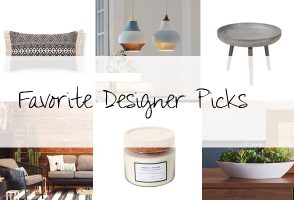 Interior Designer Décor Picks