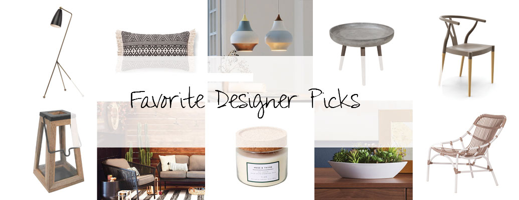 Interior Designer Décor Picks