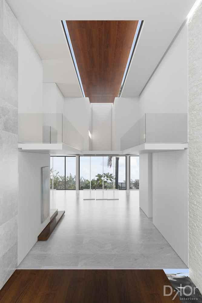Miami Beach Waterfront Minimalism Residential Interior