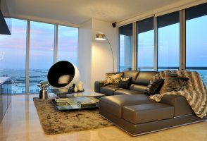 Contemporary Decorating Project In Miami's Brickell Neighborhood