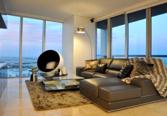 Contemporary Decorating Project In Miami's Brickell Neighborhood 1
