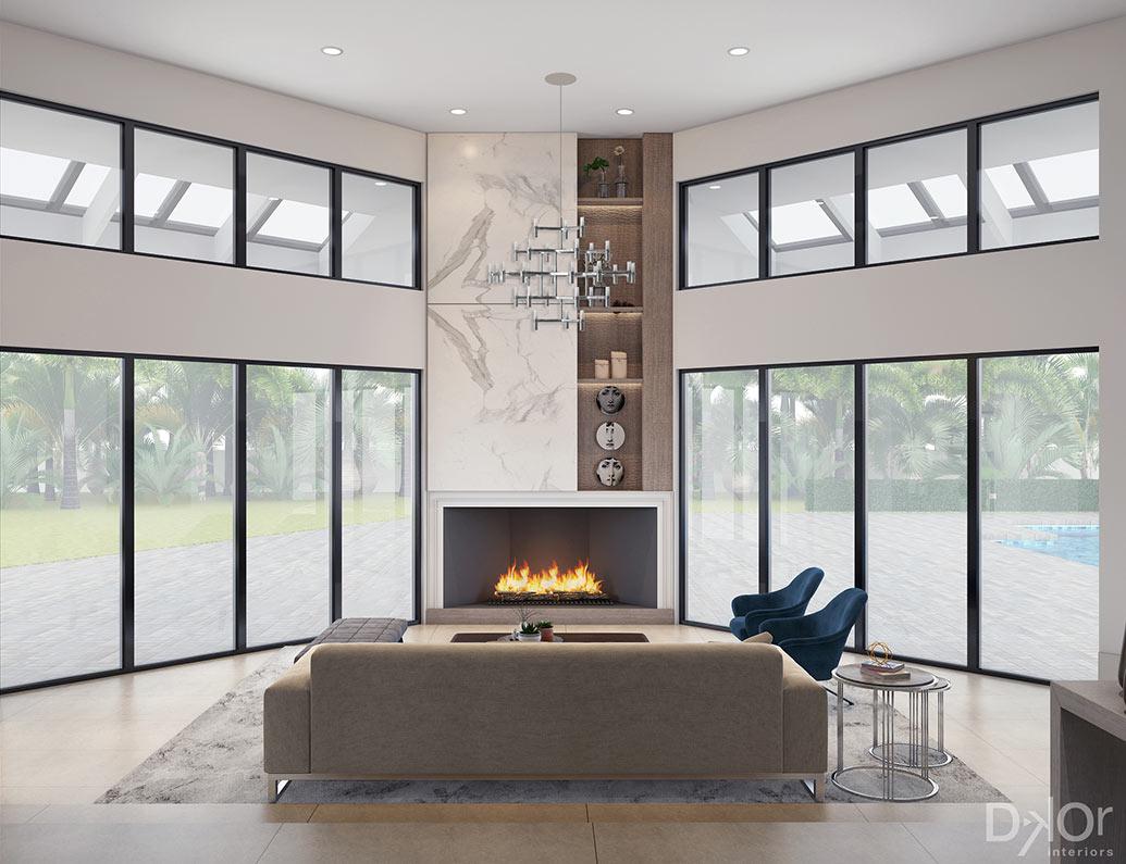 Design Inspiration for a Contemporary Coral Gables Oasis - Interior Design Firm