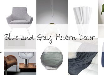 Designer Picks: Blue And Gray Modern Decor 9