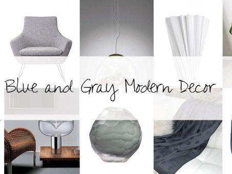 Designer Picks: Blue And Gray Modern Decor 9