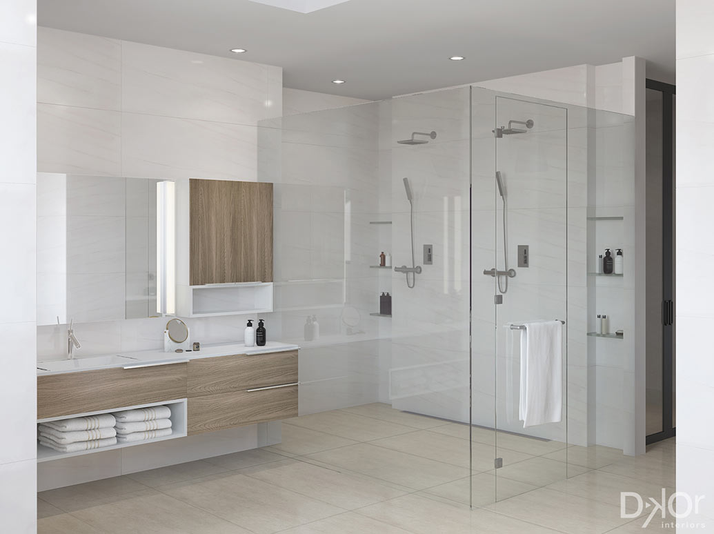 Design Check In A Modern Master Bathroom In Coral Gables