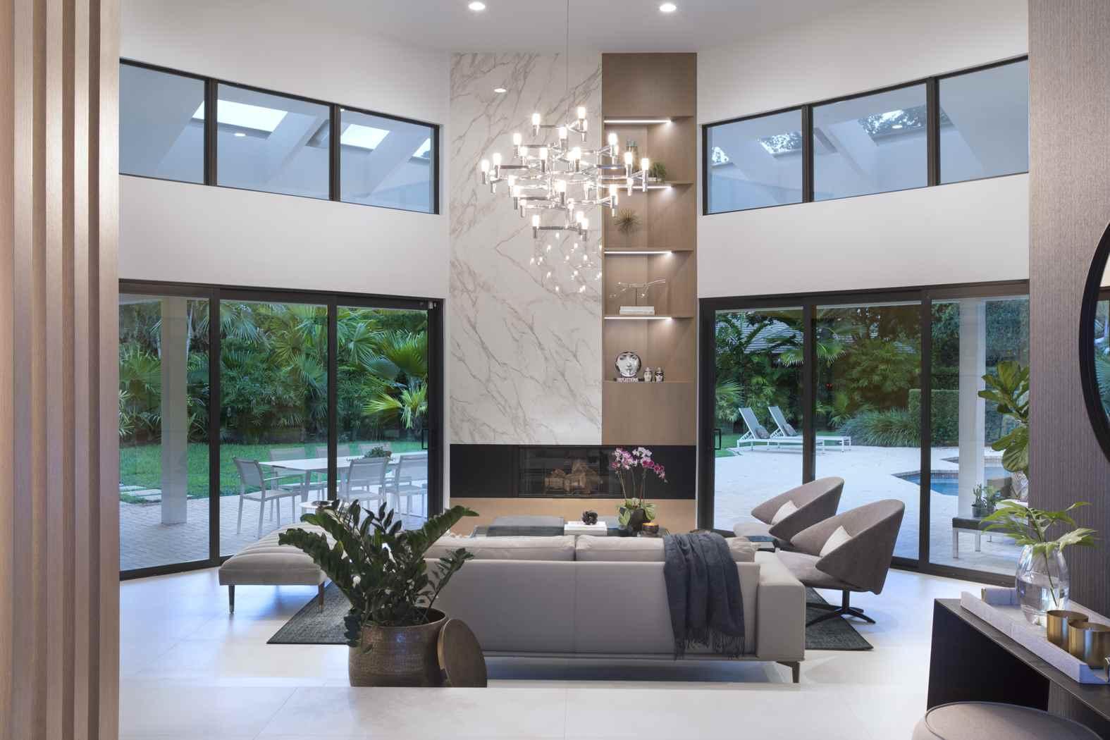 Interior Design Coral Gables A Cocoplum Contemporary Oasis