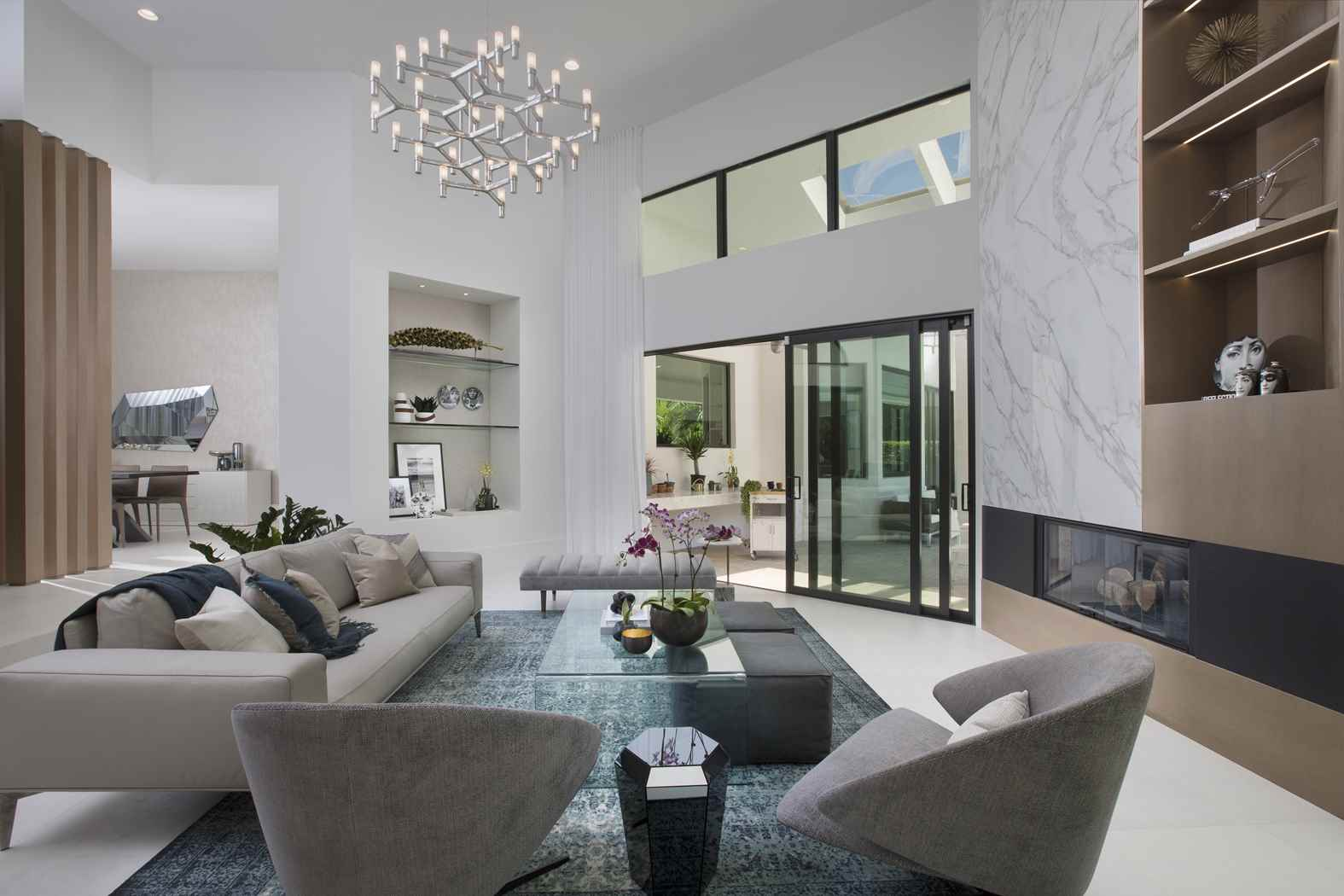 Residential Interior Design Project In Coral Gables, Florida