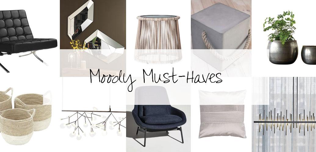 Designer Picks: Moody Must-Haves