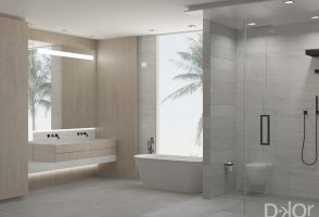 Bathroom Designs In A Contemporary Oceanfront Retreat