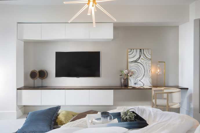Small Coastal Bedroom
